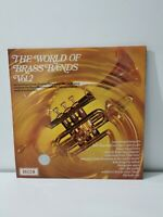 VARIOUS The World Of Brass Bands volume 2  UK Vinyl LP EXCELLENT CONDITION