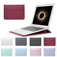 Funda de cuero Cubierta de soporte para laptop para MacBook Pro Air Retina
