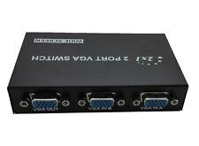 Selector de 2 Puertos Video VGA SVGA Splitter Switch  para Monitor TFT TV 2297R