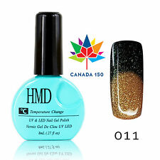 CANADA HMD Soak Off UV LED Gel Nails Polish Temperature Changing # 011 fast cure