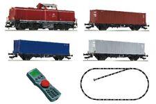 Fleischmann 631781 | Digi-startset BR 212 Containerzug Spur H0