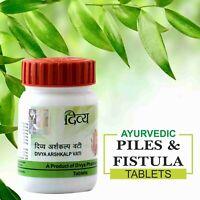 Patanjali Ramdev Divya Ayurvedic Arshkalp Vati For Piles 80 Tablets Free Ship