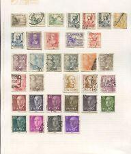 España 1929-64 Colección utilizada en las páginas... 155 Sellos