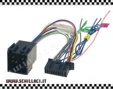 Connettore adattatore ISO autoradio KENWOOD 22 PIN contatti installazione stereo