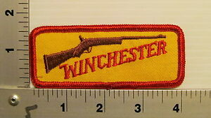 1980's WINCHESTER VINTAGE EMBROIDERED GUN RIFLE PATCH #2