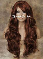 Super Luscious Layered Long Wavy Stunning Red wig WBBW 130