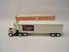 Winross Scheduled Truckways Inc. White 7000 Tractor w/ Van Reefer 1982 VGC boxed