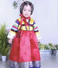 HANBOK Dolbok 1st birthday Korean traditional Korea Ethnic Dress Baby Girl 3042