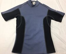 NRS women's hydroskin With Titanium Wet Suit Wetsuit shirt short sleeved size L*
