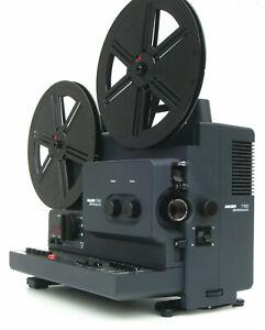 Super 8mm Projecteur de Cinéma Bauer T600 Stéréo Son