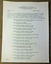 Vietnam War Usaf Second Air Division Pacaf Special Orders For Air Medal Award