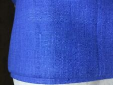 """100% Silk Matka, 2.5 Yards, 45""""W, Periwinkle Color, New w/ Defects"""