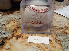 Ian Stewart autograph baseball