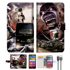 Iron Maiden Wallet Case Cover For Huawei Ascend GR5 2017-- A014