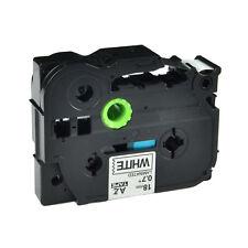 20x TZe241 TZ241 TZ 241 Black On White Label Tape For Brother P-Touch PT-E300