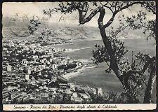 AD1133 Imperia - Provincia - Sanremo - Panorama dagli uliveti di Coldirodi