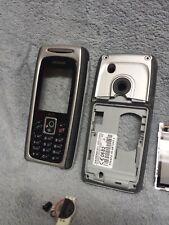 Siemens M75 Handy Gehäuse schwarz #6 C mobile phone case cover housing black