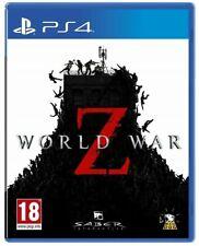 WORLD WAR Z PS4 VIDEOGIOCO PLAY STATION 4 GIOCO SURVIVOR ITALIANO ZOMBIE NUOVO