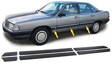 Ensemble 6 pièces de moulure porte Bandes de Bordures pour AUDI 100 C3 modèle 1982-1990