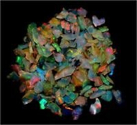 100% Natural Ethiopian Opal Multi Welo Fire Rough Loose Lot Gemstones