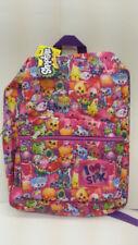 Shopkins Girl 16 Inches All Prints School Backpack 2 Pockets L@@K