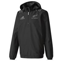 "Adidas Mens All Blacks Territory ""NEW ZELAND"" Jacket Playing Rugby Baseball Gym"