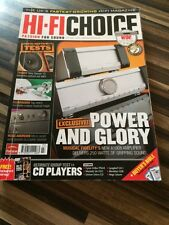 HI-FI Choice CD Amp Speakers Sub Music Cables Etc Issue No 292 April 2007