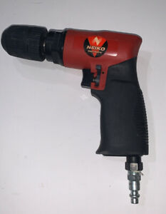 "NEIKO 30096A 3/8"" Air Drill   Composite Reversible Pistol"