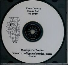 Knox Co IL Galesburg Illinois Genealogy military WWI history