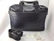 NWT man handbag F59319 M62 Mdnight Nvy/Blue Star Dot $450