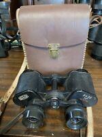 Hedler Binoculars  German/ Japan 8 x 30 antique Vintage