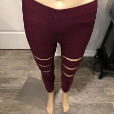 HANGER CUT OUT PANTS SIZE small