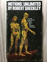 Notions: Unlimited by Robert Sheckley - Bantam Second Printing 1968 - Paperback