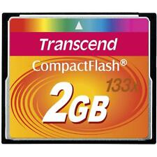TRANSCEND COMPACT FLASH MEMORY ULTRA SPEED 2 GB. NUOVA!