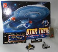 STAR TREK THE NEXT GENERATION : ENTERPIRSE 1701-C KIT, KEY RING,PIN,MAGNETS (TK)