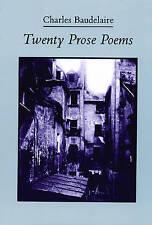 Twenty Prose Poems by Charles Baudelaire (Paperback, 1988)