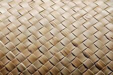 4' x 8' Fine Weave Lauhala Matting Tropical Wall Ceiling Bar Tiki Hut