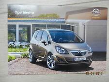 Catalogue Opel Meriva juin 2010