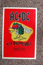 AC/DC Tour Poster 1985 FLY ON THE WALL