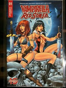 VAMPIRELLA RED SONJA #1 FLYING MONKEY EXCLUSIVE VARIANT SIGNED BY Sean Forney!