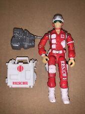 New listing G.I. Joe Lifeline Rescue Trooper 1986 Arah Vintage Gi Joe Action Figure