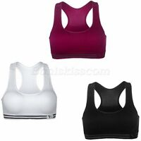 Women's Sexy Stretch Workout Tank Top Fitness Yoga Running Gym Sports Bra Vest