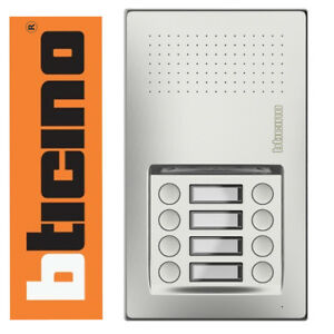 Bticino Terraneo 2 WIRE 2 FILI Linea Audio 8 Button Door Entry Intercom Panel
