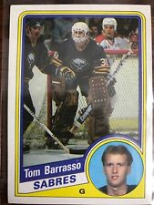 1984 NHL TOPPS Tom Barrasso Rookie NM