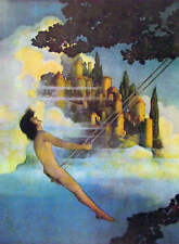 """The Dinky Bird"" by Maxfield Parrish"