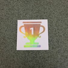 1st Place Trophy Sticker