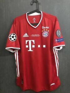 Bayern München champions league final match worn Lewandowski