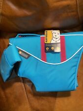 Ruffwear Float Coat Dog Life Jacket Large L Blue 32-36 in. New W/Tags