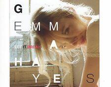 CD GEMMA HAYES let ik break UK 2012 EX