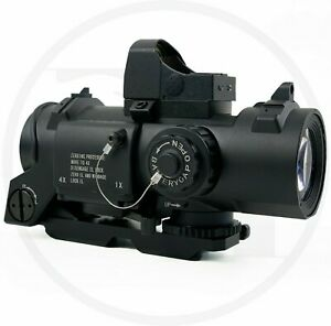 NEW Airsoft GelBlaster Elcan Spectre with RMR Black 1-4x Variable Magnification
